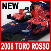 3d 2008 scuderia toro rosso model