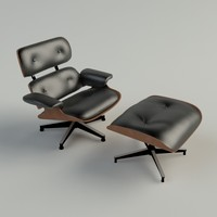 3ds max eames lounge chair materials