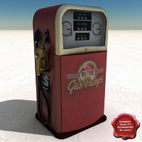 max retro gas pump