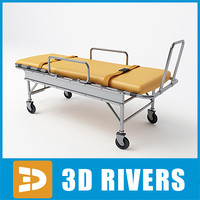 Medical stretcher 02 by 3DRivers