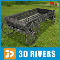 3ds max draw cart 01