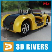 unique acrea zest 3d model