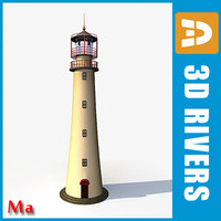 ma tropical lighthouse light