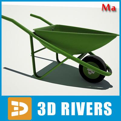 Wheelbarrow v1 by 3DRivers