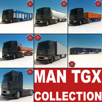 MAN TGX collection