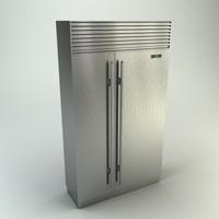 3ds max sub-zero refrigerator