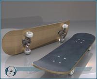 skate board 3d 3ds