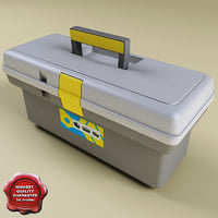 toolbox modelled 3d 3ds