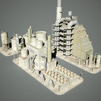 Industrial Structures Set  109