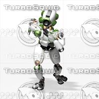 robot 3d 3ds