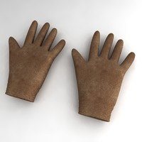 3d model gloves accessories