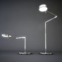 desk vibia swing lamp 3d model