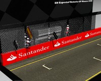 3ds max mclaren mercedes victory team