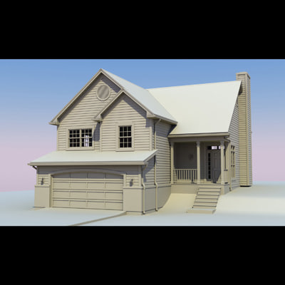 3ds exterior house - A0409A_3DS.zip... by savitch