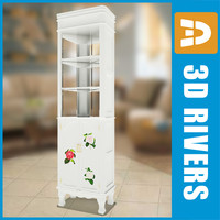 3d retro big cupboard