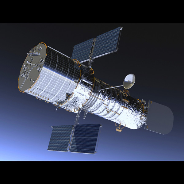 hubble telescope 3d model - photo #15