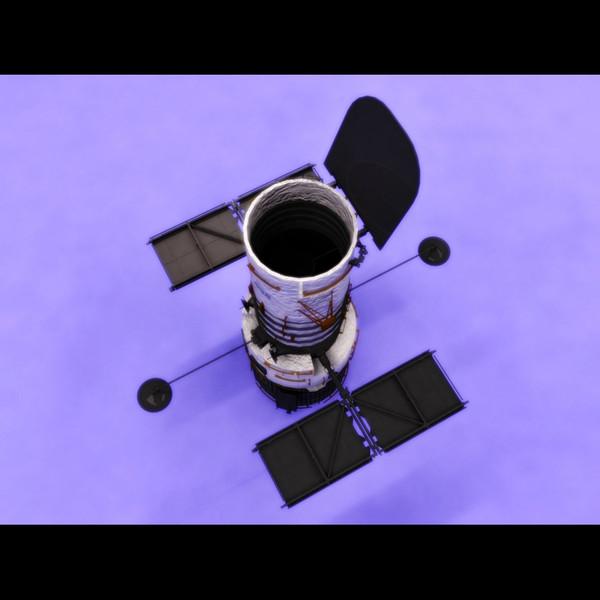 hubble telescope 3d model - photo #34