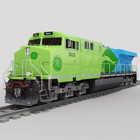 GE Es44DC Evolution locomotive