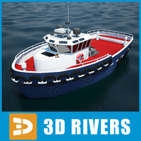 Sea Tug 04 by 3DRivers
