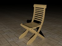 Chair very high, high and low poly.rar