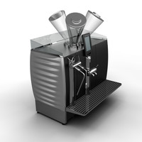 3ds max coffee machine