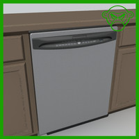 3d 3ds dishwasher dish washer