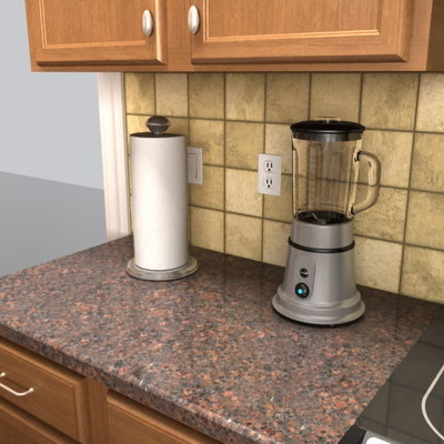 3d 3ds kitchen set collection for Kitchen set rate