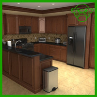 3d model of kitchen appliance