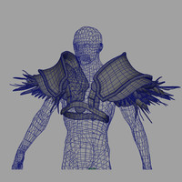 shoulder armor 3D models