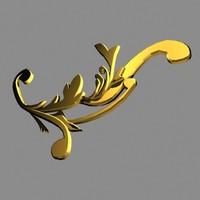 3d decoration ornament