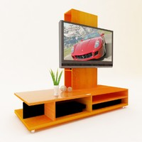3d lcd plasma tv stand