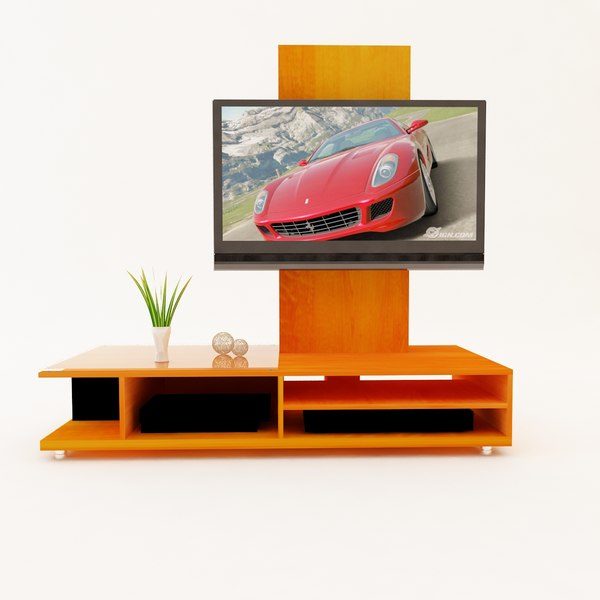 3d lcd plasma tv stand - TURBOSQUID TV STAND.zip... by aldofarias82