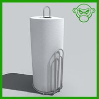 paper towel 3d model