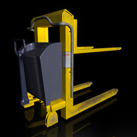 handle forklift lift 3d model