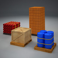 storage elements 3d max