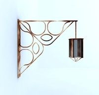 maya hanging light fixture