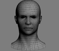 Male head + UVs