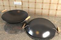 3d wok model