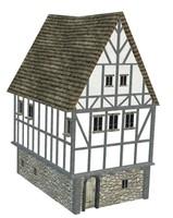 medieval house obj