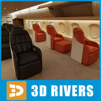 First class interior by 3DRivers by 3DRivers