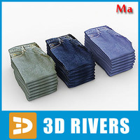 3ds max pile clothes v1