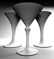 max hand-made martini glasses genuine