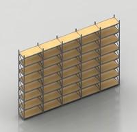 storage racks 3d max