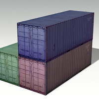 3d containers games