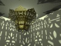 3d model johara chandelier