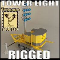 light tower 3d lwo