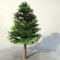 3d model pc tree
