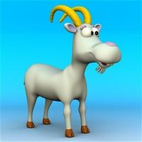 cartoon goat ! 3d max