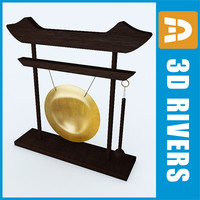 Chinese gong by 3DRivers