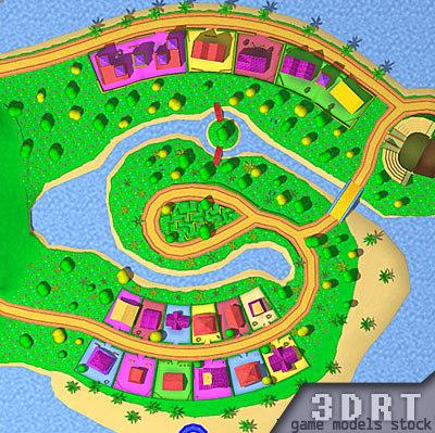 3DRT-fantasy-worlds-construction-megakit